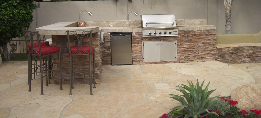 Built in grills bbq island phoenix scottsdale glendale for Outdoor barbecues built in