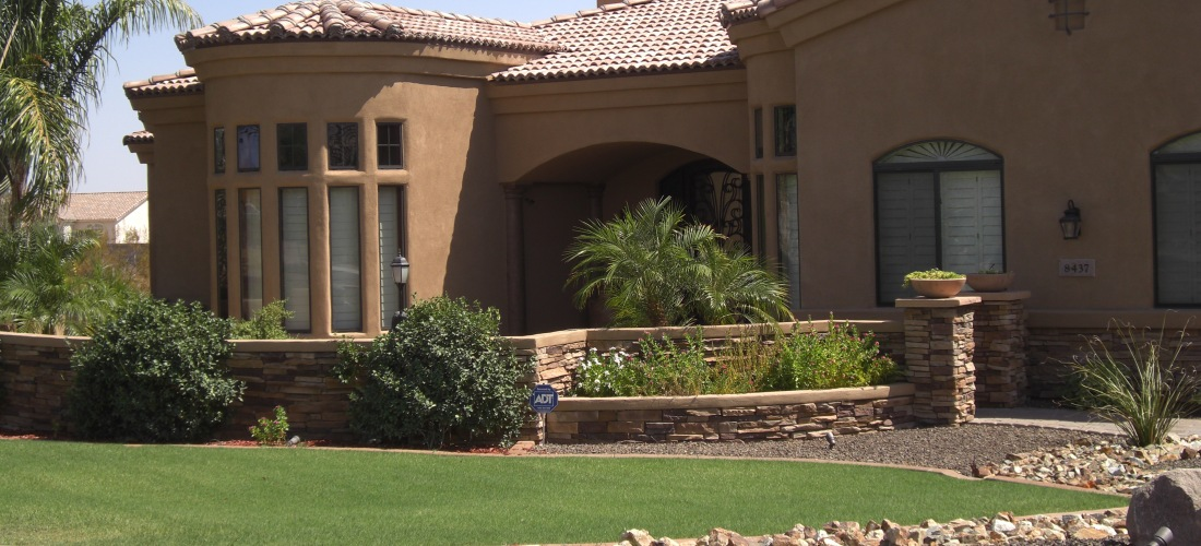 Beautiful Curb Appeal From Phoenix Lawns Arizona