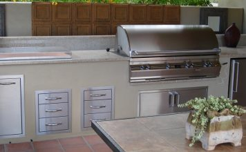 Shady Outdoor Kitchen