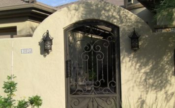 Stucco Privacy Walls