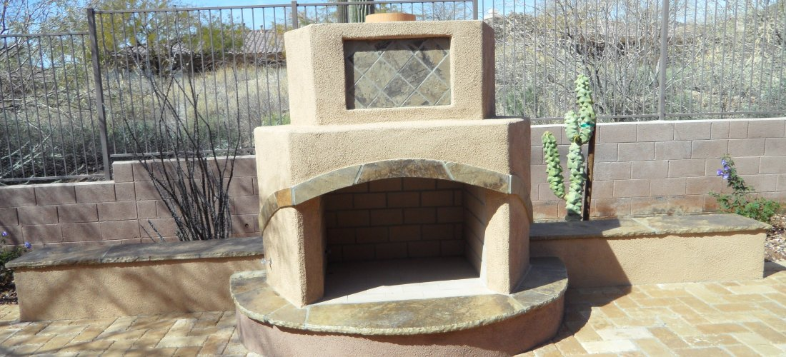 Unique Patio Fireplaces
