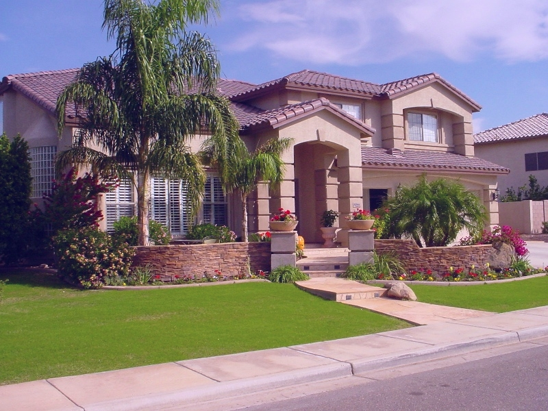Lush Green Tropical Landscaping Phoenix Amp Scottsdale