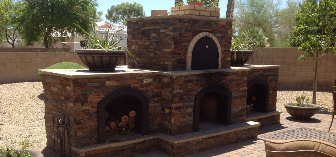Outdoor Pizza Oven  Outdoor Fireplace And Pizza Oven