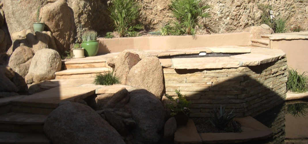 Stone Spa Surround