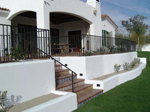 Desert Crest does low to tall retaining walls that require special engineering in Scottsdale - Phoenix masonry projects.