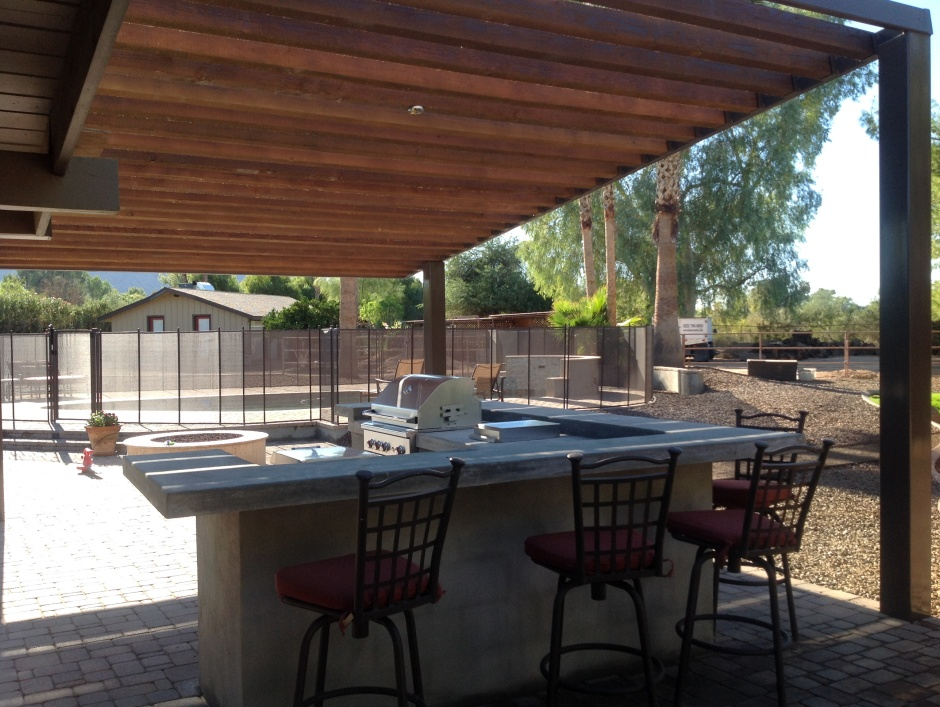 Instant Shade for Patio Design: Scottsdale