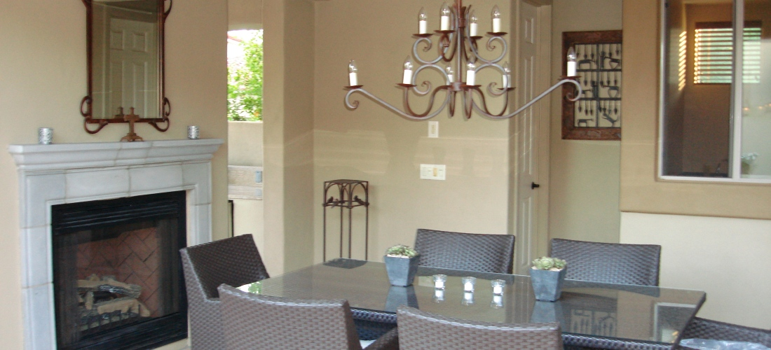 Attached Outdoor Room