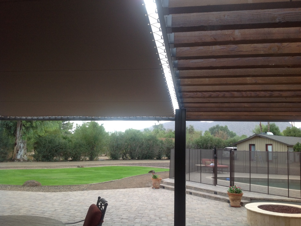 Solid Shade Patio Covers - Scottsdale