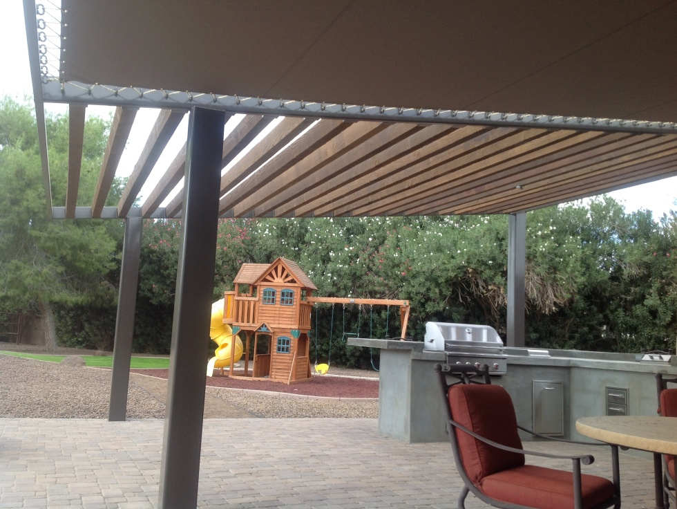 Patio Shade Structures - Scottsdale Landscaping