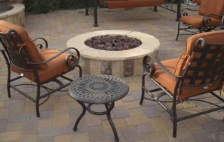 Custom designed for your needs and outdoor living spaces, Phoenix - Scottsdale outdoor fire pits by Desert Crest.
