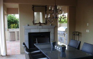 With a solid roof and thick walls, custom outdoor rooms for any purpose give relief from the heat and open air living.