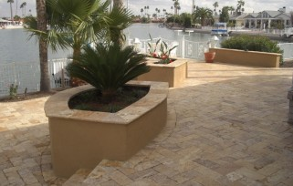 Sidewalks, driveways, courtyards, patios or pool deck, Desert Crest offers quality Scottsdale - Phoenix pavers & stone paving services.
