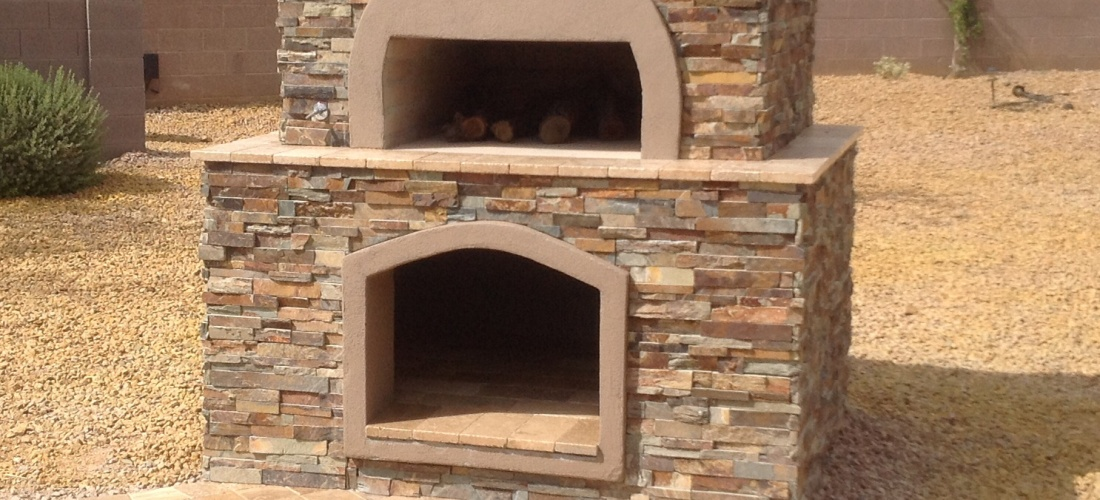 wood burning pizza oven wood fired pizza oven anthem az desert crest llc 10598