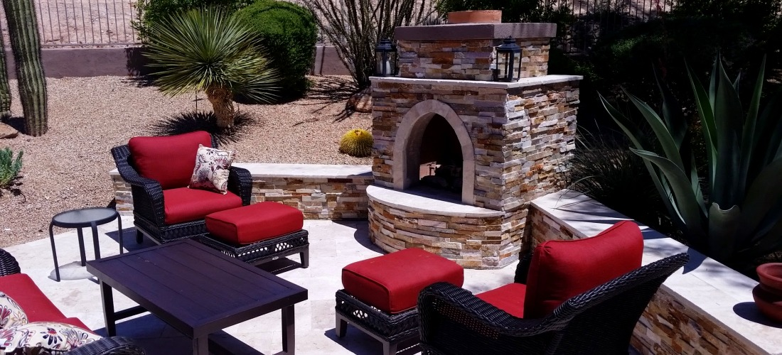 The ultimate in patio ambiance! Desert Crest can enhance your lifestyle with gorgeous