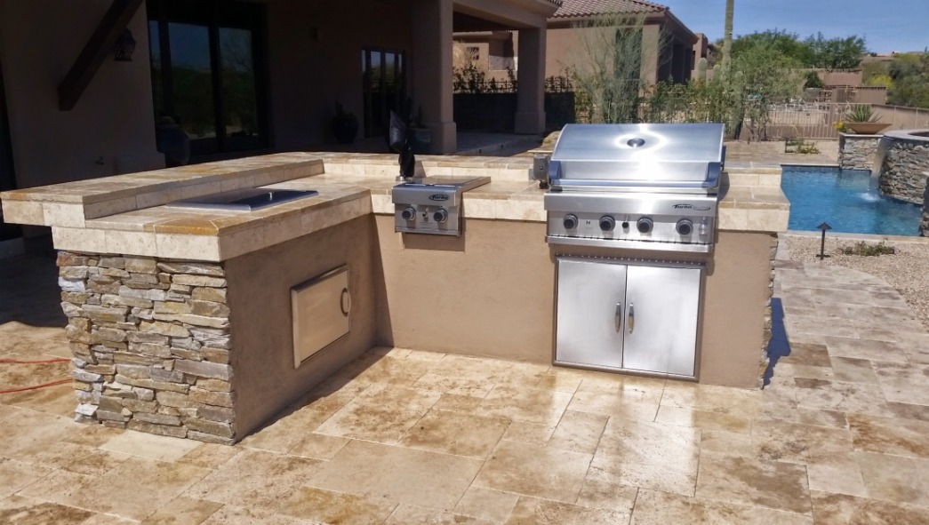 Sensational Built In Grills: Scottsdale