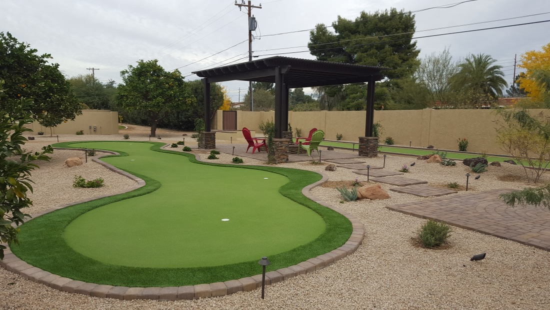 Backyard Game Spaces: Scottsdale Landscaping
