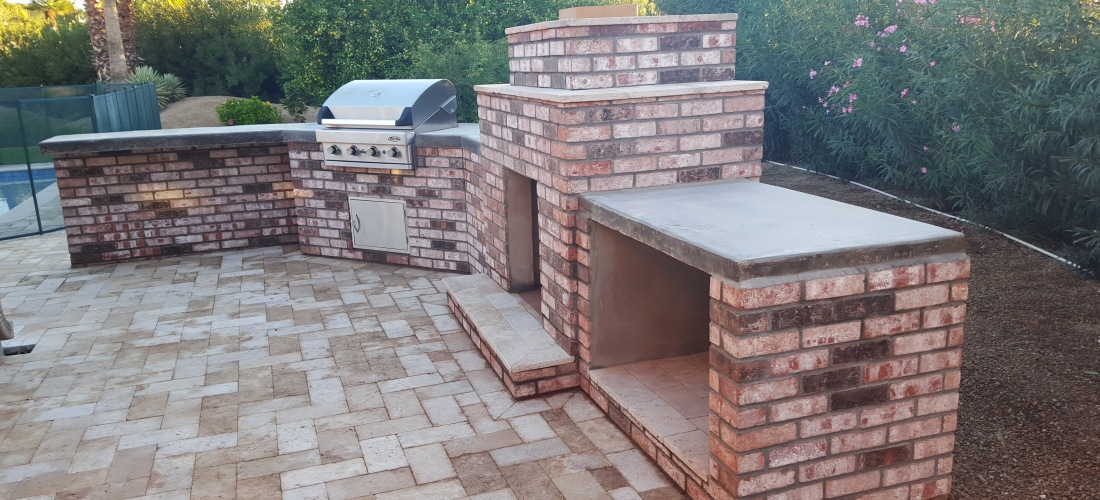 Plans For Outdoor Kitchen With Pizza Oven