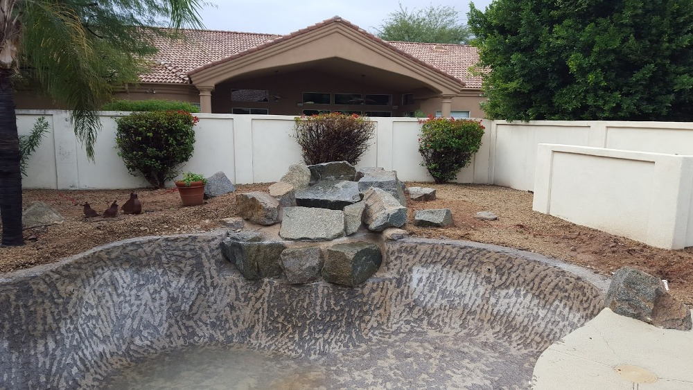 BEFORE: Swimming Pool Remodeling - Scottsdale