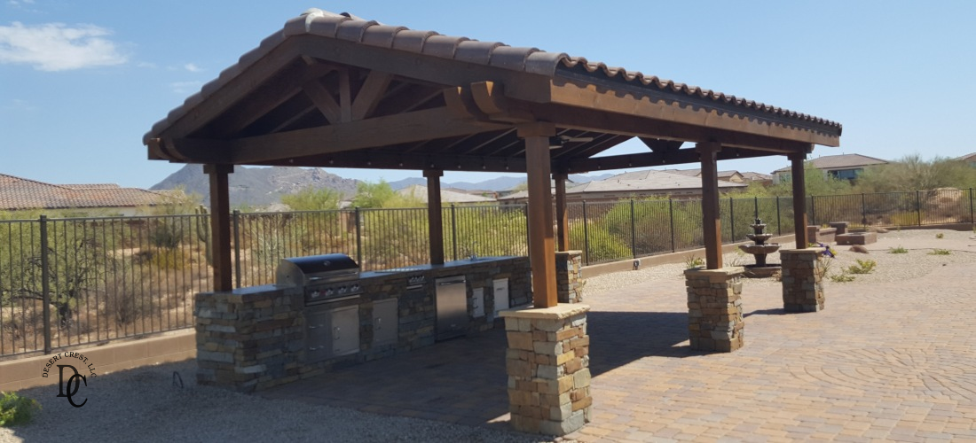 Scottsdale Phoenix Outdoor Kitchen Portfolio W Nw Valley