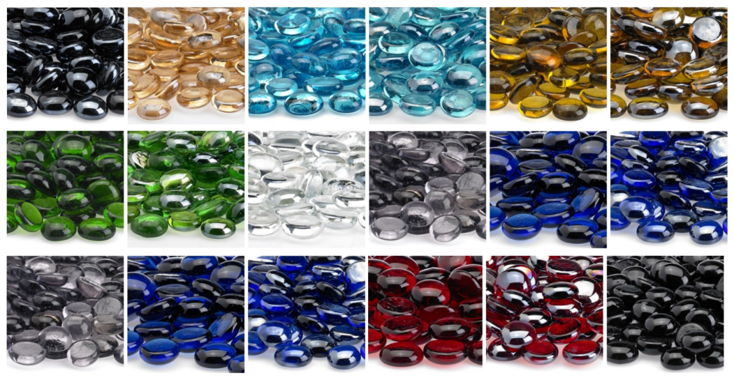 Fire Beads: Glass Phoenix Fire Pit Fill