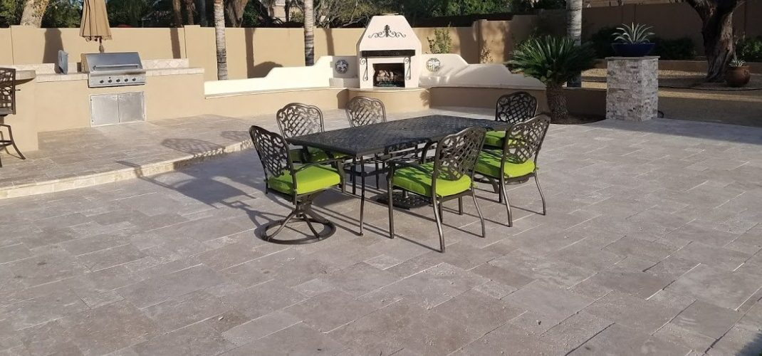 Travertine Pavers: Peoria