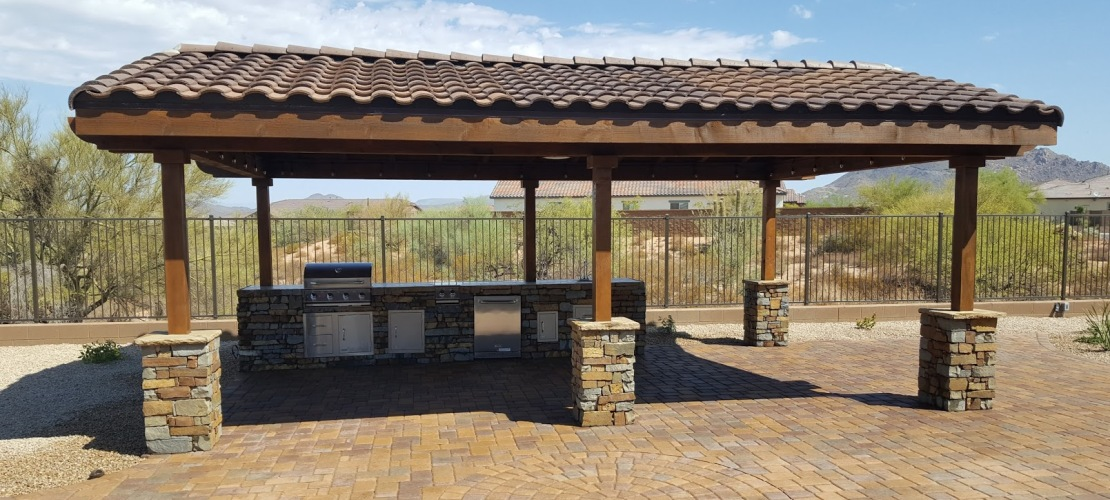 Scottsdale phoenix patio covers pergolas ramadas for Sun shade structure