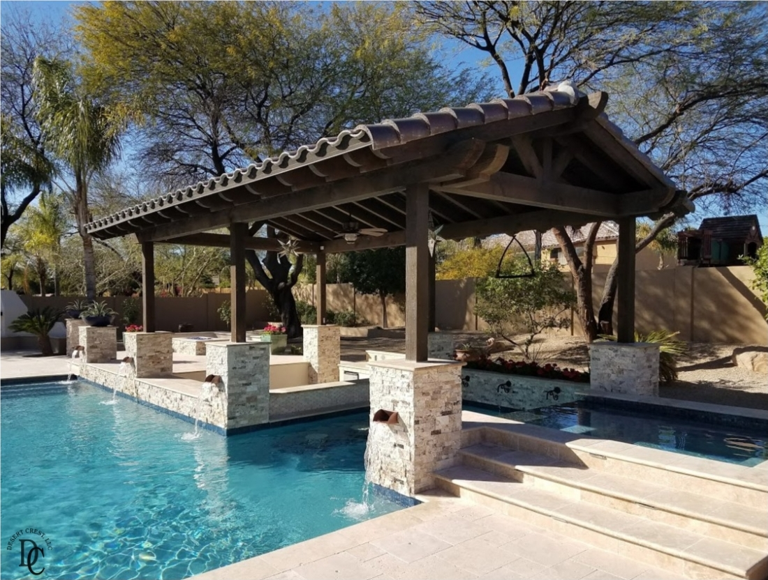 Peoria Swimming Pool Shade Structure