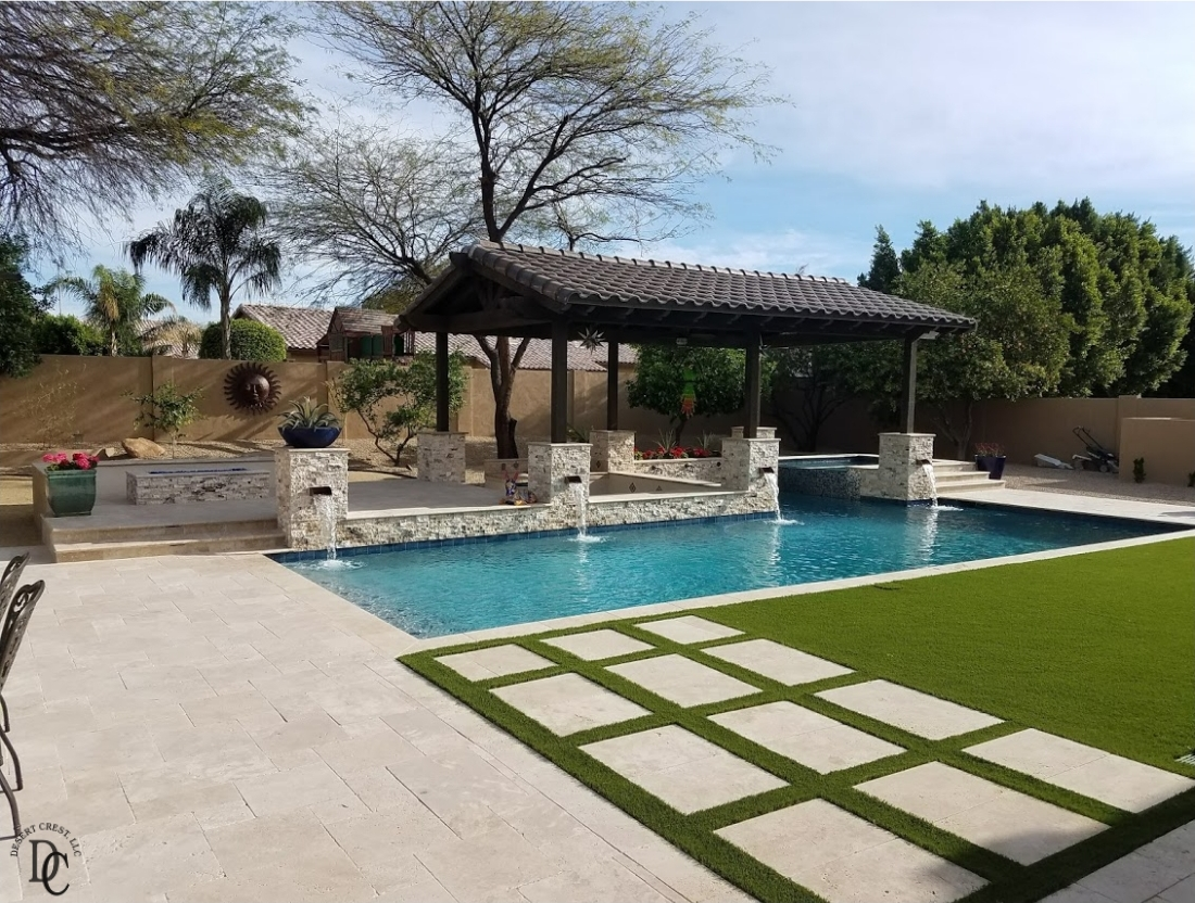 Gorgeous New Pool Installation: Peoria, AZ